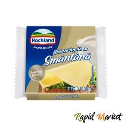 HOCHLAND Branza Topita Felii Smantana 140g