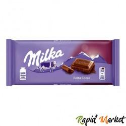 MILKA Ciocolata Extra Cacao 100g