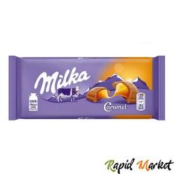 MILKA Ciocolata Caramel 100g