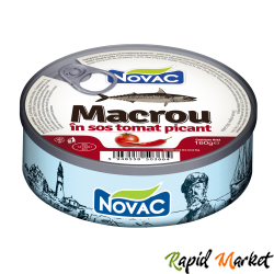 NOVAC Macrou In Sos Tomat Picant 160G