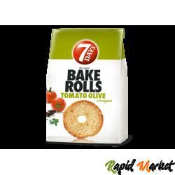 7DAYS Bake Rolls Tomato Olive 70g
