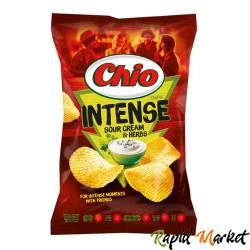 CHIO CHIPS Intense Smantana si Patrunjel 135G