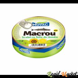 NOVAC Macrou In Ulei Cu Lamaie 160G