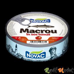 NOVAC Macrou In Sos Tomat 160G