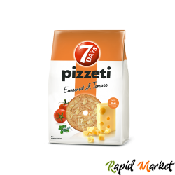 7DAYS Pizzeti Branza&Rosii 80g