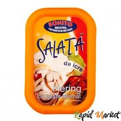 BONITO Salata Icre Hering si peste afumat 170g